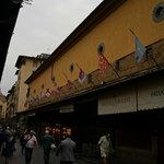 This is literally taken of the Ponte Vecchio as you step out of the front door of the hotel