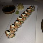 Good/interesting salmon roll.