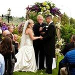 Exchanging Vows at the Hilton Garden Inn