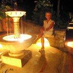 """The romantic fountain in """"Le Ghiande"""""""