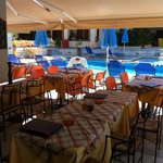 Restaurant/poolarea okt 2013