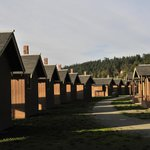 Cabins at Cama Beach