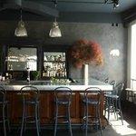 Vintage Bar with Zinc Top