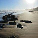 Sun, sand, beach, rocks...