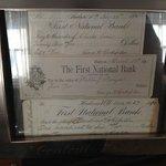 Original statements signed by George H. Rockefeller.