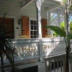 Outside Barbados room
