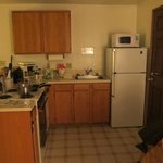 Kitchen in room 26