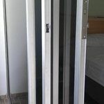 Doble puerta en el balcon