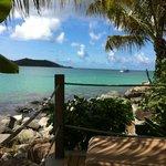 View from boardwalk lounge area