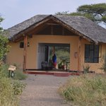 Welcoming area to Kirurumu Tarangire Lodge
