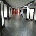 Beautiful floors in the lobby