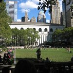 The Bryant Park i NYC