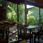Tropical low key Kauai dining