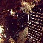 the restaurant cellar