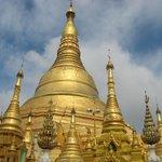 Shwedagon Pagoda in all its 24carat glory.
