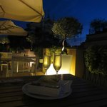 Roof Terrace in the evening