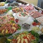 Fiske buffet