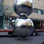On 27/6/2007 the Malls Balls were re-installed after being taken away for maintenance.