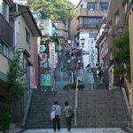 昼の石段街