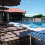 Rooftop Pool and swim up bar