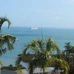 the day the cruise ship came into Airlie. 13th October, 2013