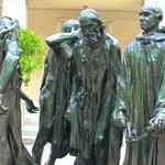 Rodin Sculpture outside Kunstmuseum