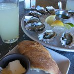 Oyster and Lemonade