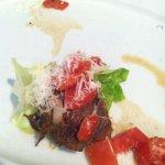 Beef short rib lettuce wrap