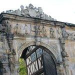 Alte Hofhaltun・・・旧宮殿入り口城門も凝った造り