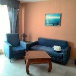 Salón con sofá cama h841