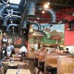 Mellow Mushroom: Inside the Restaurant