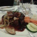 Filet Steak mit Portwein Sauce!