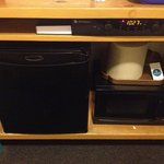 Calamity Jane room mini frig & microwave