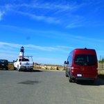 stopping at the lighthouse