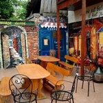 Inner garden - terrace of Casa Leone