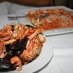 Spaghetti ai frutti di mare... ormai sbranati!
