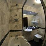 Salle de bain - chambre basique