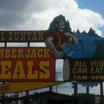 Paul Bunyans cook shanty