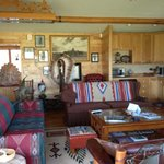 The livingroom of the K3 ranch