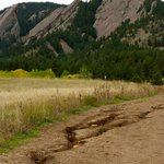 Some erosion along the trail to the Flat Irons