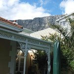 View to Table Mountain just back of the house