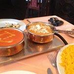Butter Chicken, Tikka Masala, and Basmati Rice