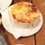 Nasty augratin potato dish-it was sweet like they added sugar and not sure the potatoes were rea
