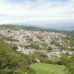 Panorámica del casco Urbano de Velez Santander