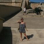 at castillo de san carles (zoals het op mallorca aangegeven staat)
