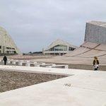 Empty spaces at the Cidad da Cultura.