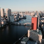 Sumida river view from 10 flr room