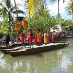 Hawaiian float