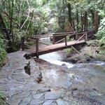 Puente a las piscinas