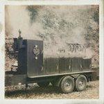 Mobile smoke pit